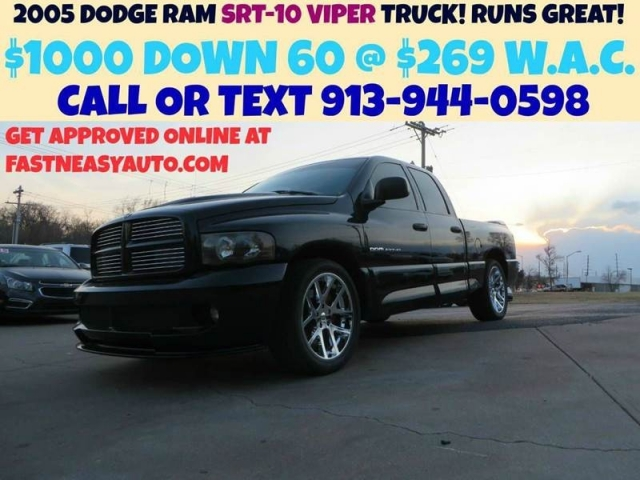 $15,950, 2005 Dodge Ram Pickup 1500 SRT-10