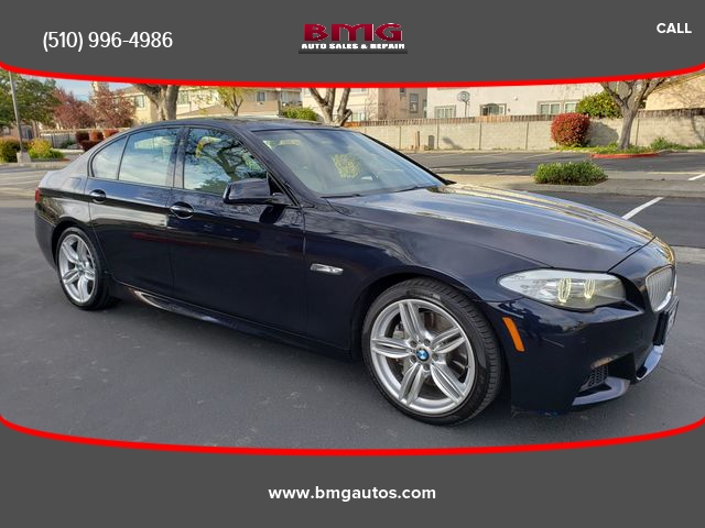 2013 bmw 5 series 550i sedan 4d cars - fremont, ca at geebo