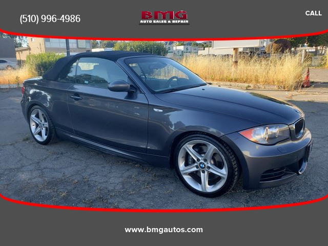 2008 bmw 1 series 135i convertible 2d cars - fremont, ca at geebo