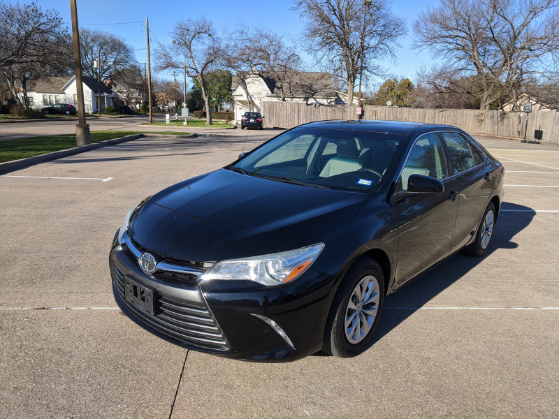 2016 toyota camry 4dr sdn i4 auto le cars - plano, tx at geebo