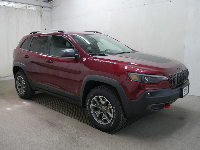 2020 jeep cherokee trailhawk 4x4 cars - burnsville, mn at geebo