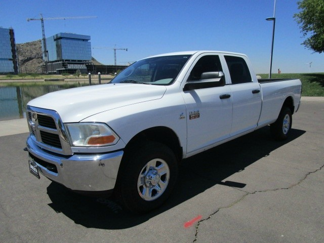 2012 ram 3500 4wd crew cab long bed single rear wheel h o diesel can be lifted carfax certified. Black Bedroom Furniture Sets. Home Design Ideas