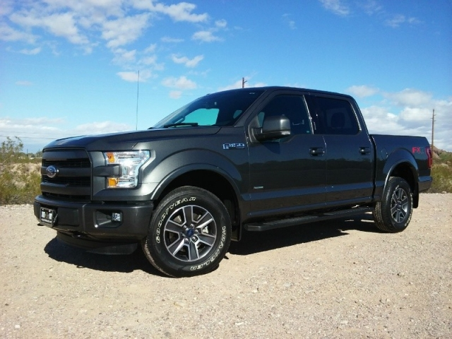 2015 ford f 150 4wd supercrew lariat fx4 lariat ecoboost can be lifted carfax certified. Black Bedroom Furniture Sets. Home Design Ideas
