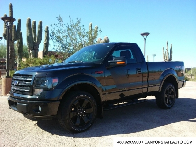 2014 ford f150 4wd reg cab fx4 3 5l ecoboost can be lifted carfax certified inventory canyon. Black Bedroom Furniture Sets. Home Design Ideas