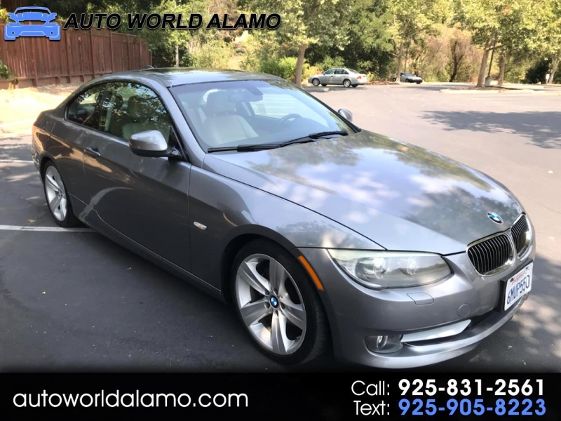 2011 bmw 3 series 2dr cpe 328i rwd sulev cars - alamo, ca at geebo