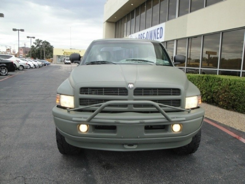 2001 Dodge Ram 2500 LOOK LOOK LOOKPLASTIC COAT PAINT IN ARMY GREEN4X4QUAD C