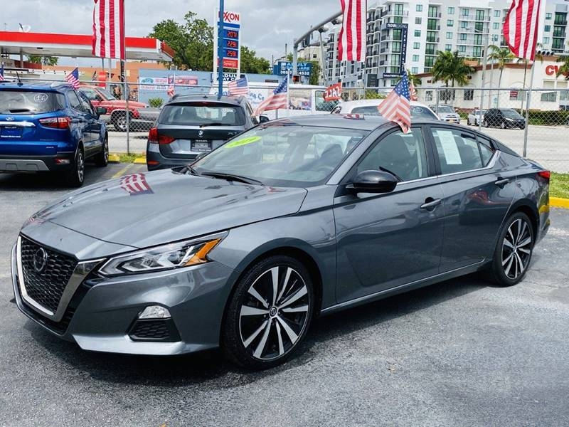 2019 nissan altima 2.5 sr 4dr sedan cars - miami, fl at geebo