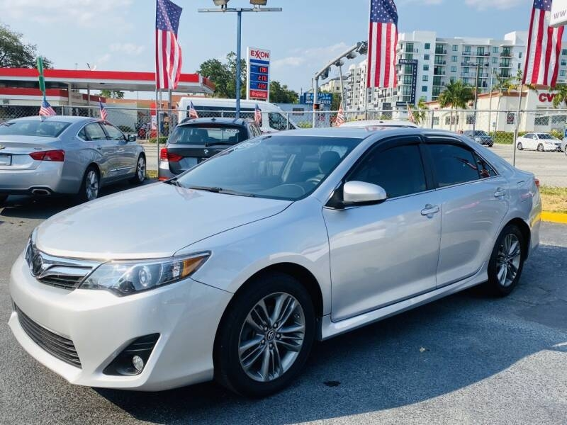 2012 toyota camry le 4dr sedan cars - miami, fl at geebo