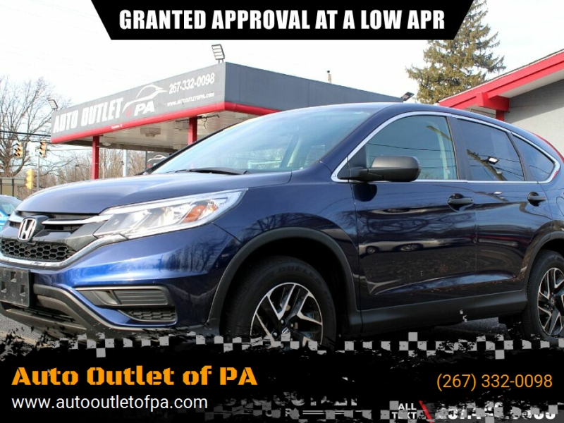 2016 honda cr-v ex awd 4dr suv cars - bensalem, pa at geebo