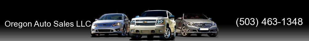 Oregon Auto Sales LLC. (503) 463-1348
