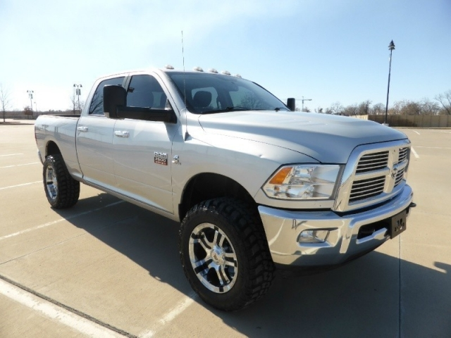 2012 Dodge Ram 2500 4wd Crew Cab Slt Cummins Lifted Bad A