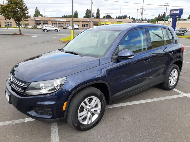 2013 volkswagen tiguan 2.0t s 4motion awd suv cars - vancouver, wa at geebo