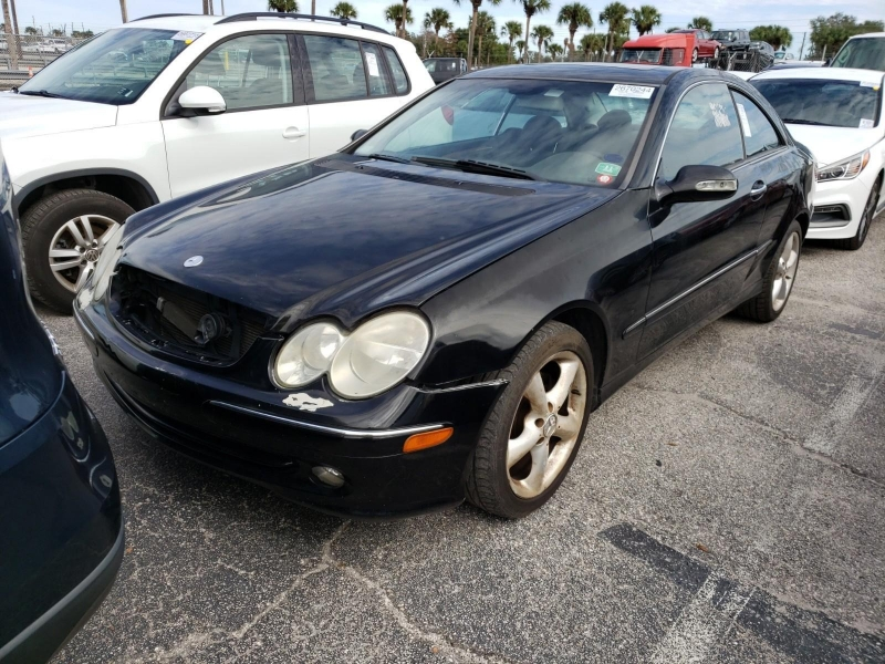 2005 mercedes-benz clk-class 2dr coupe 3.2l cars - jacksonville, fl at geebo