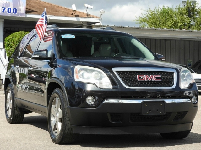 2010 gmc acadia slt inventory best car for less auto dealership in houston texas. Black Bedroom Furniture Sets. Home Design Ideas