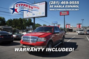 Ford F150 4WD LARIAT 2005