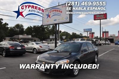 Chevrolet IMPALA LT 2012