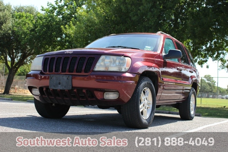 used 1999 jeep grand cherokee limited for sale houston tx cargurus. Black Bedroom Furniture Sets. Home Design Ideas