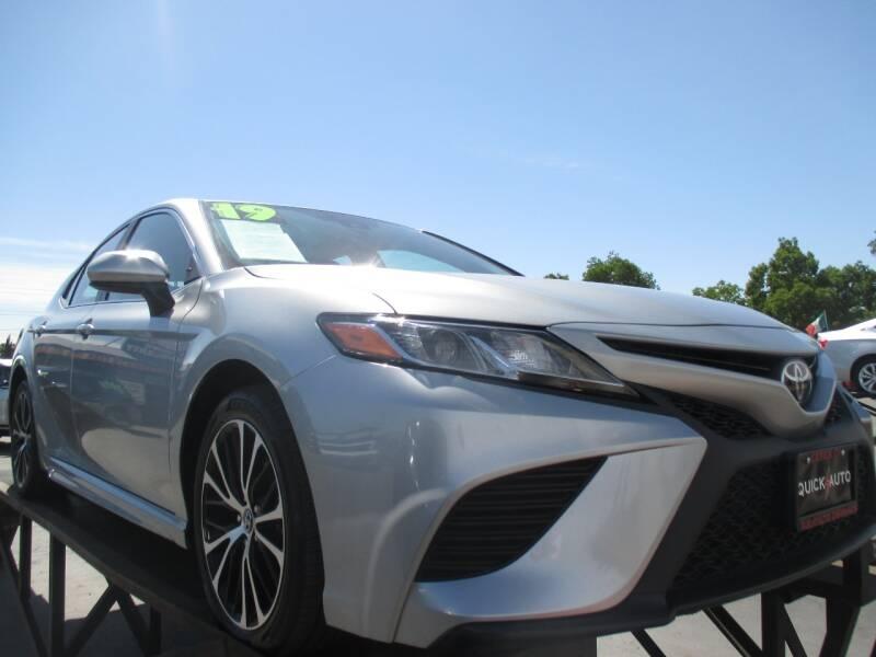 2019 toyota camry se 4dr sedan cars - modesto, ca at geebo