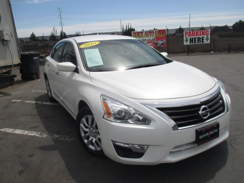 2015 nissan altima 2.5 s 4dr sedan cars - modesto, ca at geebo