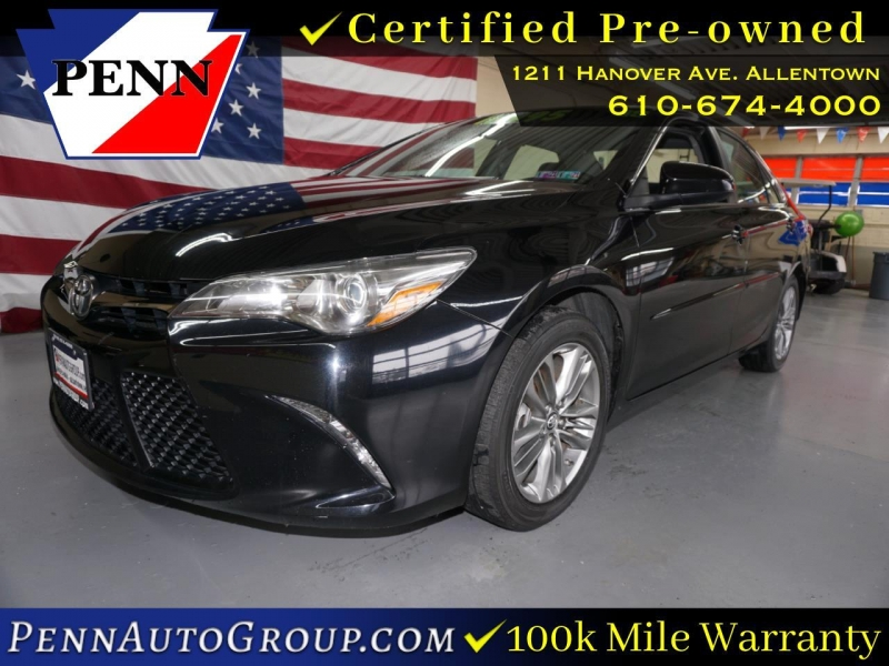 2017 toyota camry xle auto natl cars - allentown, pa at geebo