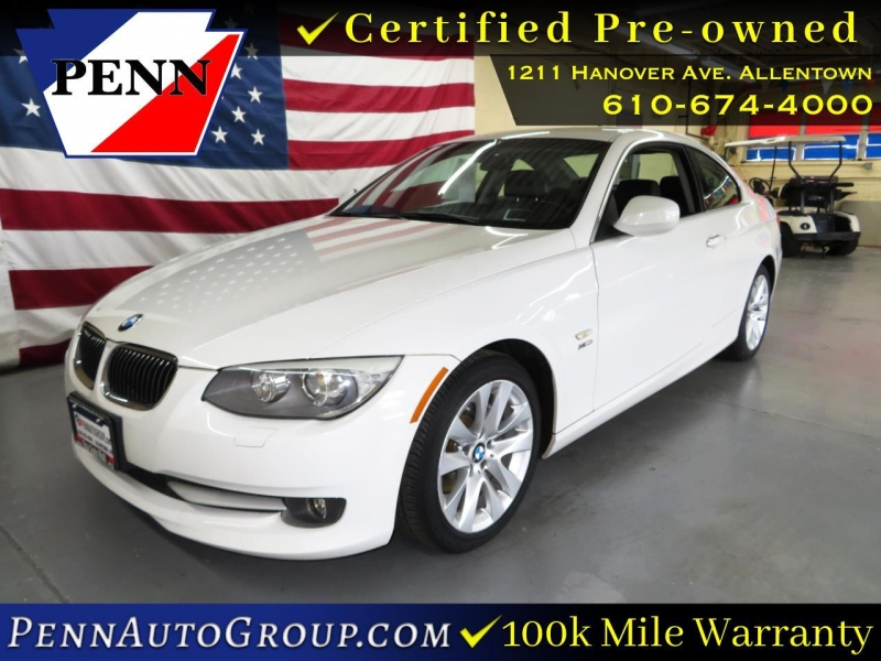 2013 bmw 3 series 2dr cpe 328i xdrive awd cars - allentown, pa at geebo