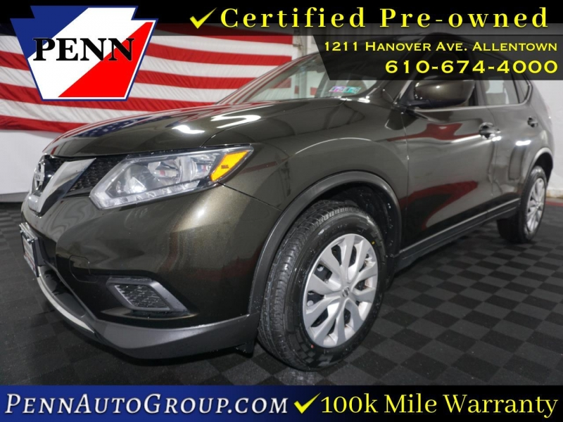 2016 nissan rogue awd 4dr s cars - allentown, pa at geebo