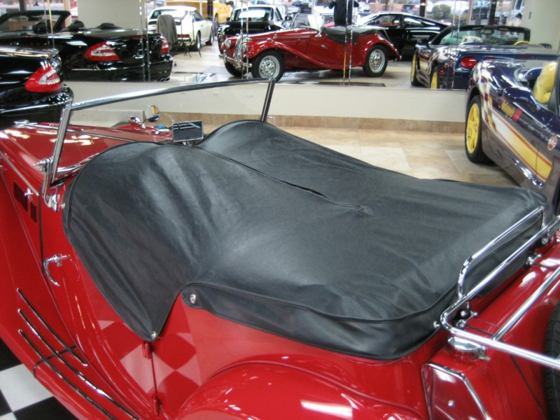 1954 MG T-Series : Show Quality 1954 MG TF Roadster Complete Restoration Great Ownership