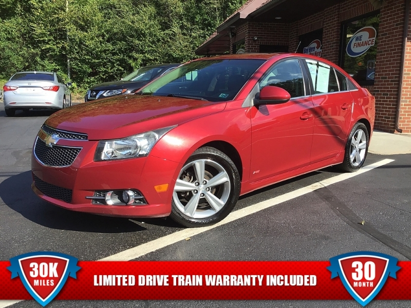 2012 chevrolet cruze lt cars - ashland, pa at geebo