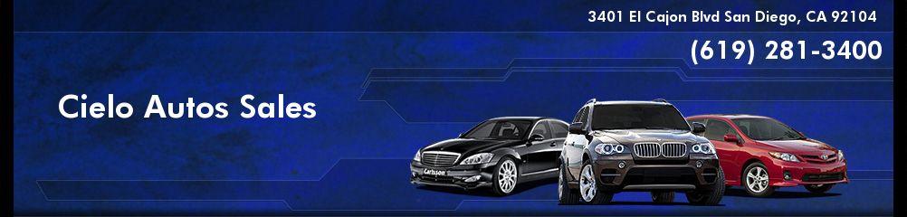 Cielo Autos Sales. (619) 281-3400