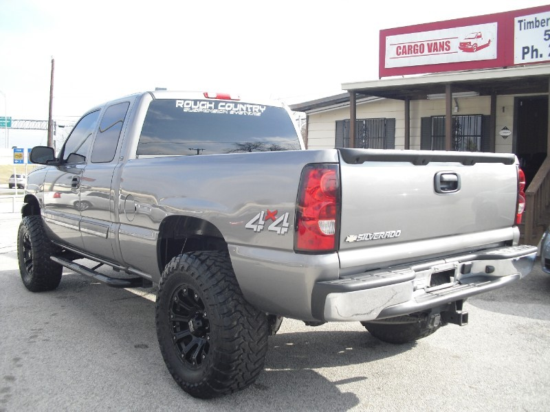 2007 Chevrolet Silverado 1500 Classic 4wd Ext Cab Lifted