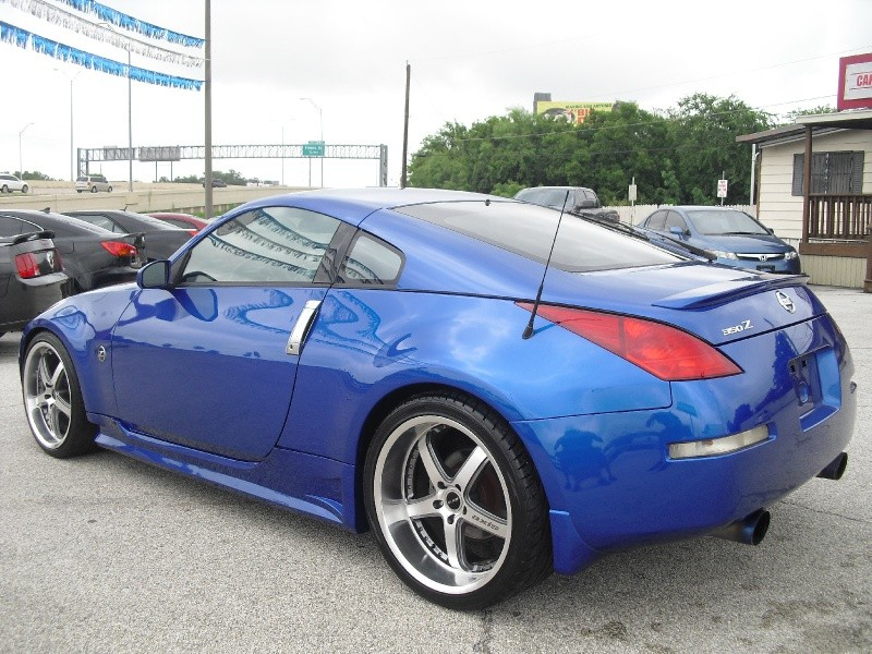 2004 nissan 350z daytona blue 6 speed axis staggered. Black Bedroom Furniture Sets. Home Design Ideas