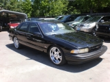 Chevrolet Caprice Classic/Impala SS/Caprice Police/Taxi Pkgs 1996