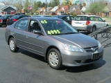 Honda CIVIC 4DR SEDAN LX-5 SPEED 2005