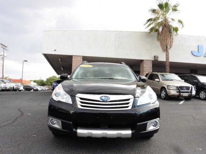 2010 Subaru Outback 4dr Wgn H4 Auto 25i Ltd Pwr Moo Black Tan 92000 miles Stock 377381 VIN