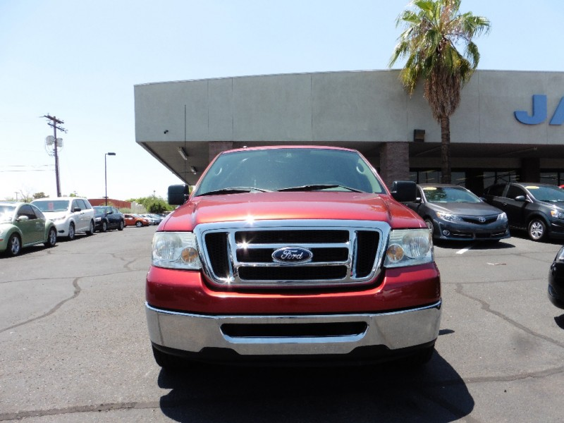 2008 Ford F-150 2WD SuperCrew 150 XLT Red Gray 113000 miles Stock C58836 VIN 1FTPW12598KC58