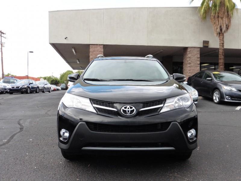 2014 Toyota RAV4 FWD 4dr XLE Black Black 39000 miles Stock 102894 VIN 2T3WFREVXEW102894