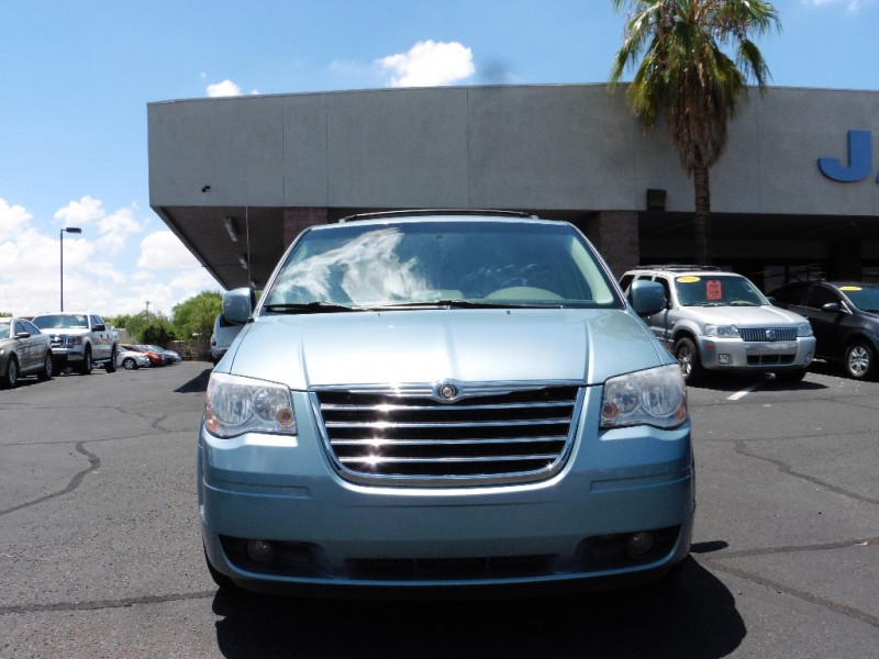2008 Chrysler Town  Country 4dr Wgn Touring Blue Gray 72000 miles Stock 610259 VIN 2A8HR