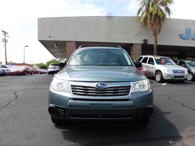 2010 Subaru Forester 4dr Auto 25X Teal Gray 89000 miles Stock 912097 VIN JF2SH6BC8AH912097