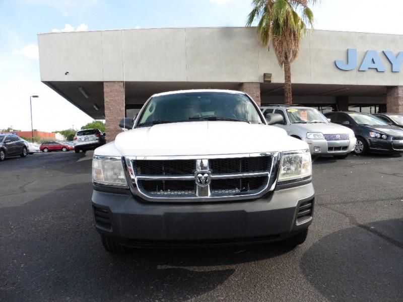 2008 Dodge Dakota Ext Cab ST White Gray 85000 miles Stock 501736 VIN 1D7HE22K48S501736