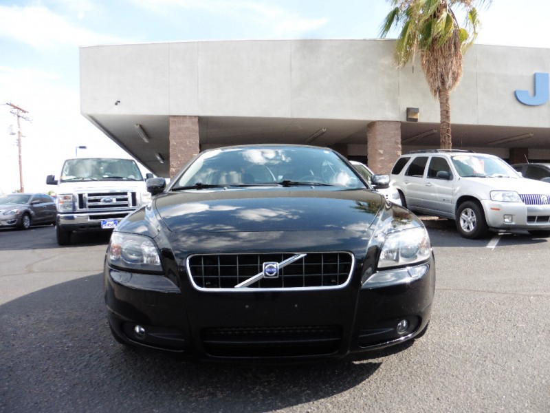 2007 Volvo C 70 2dr Conv AT Black Black 101000 miles Stock 016857 VIN YV1MC68277J016857