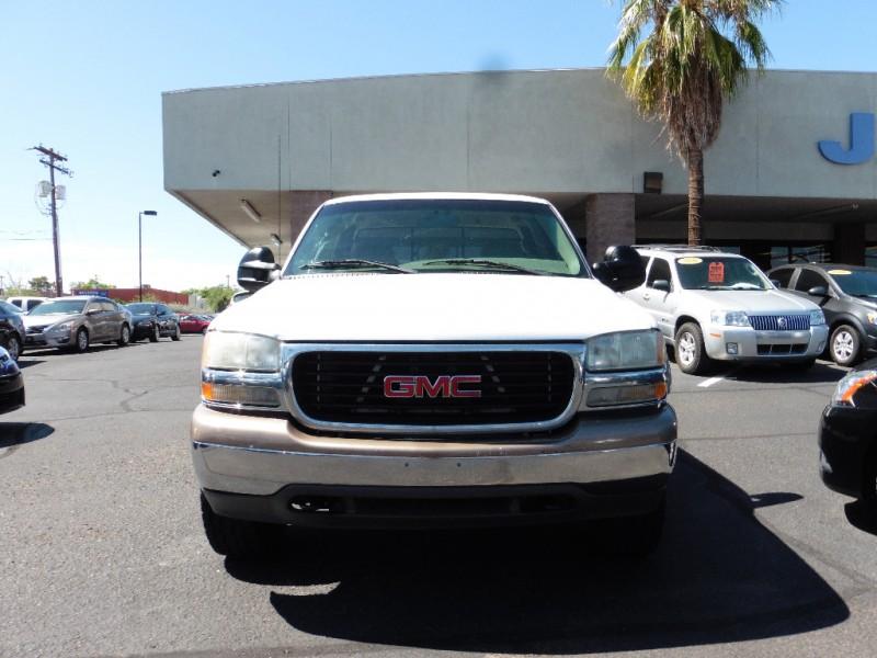 2000 GMC Sierra 2500HD HD 4dr Ext Cab 4X4 SLE White Gray 184000 miles Stock 151055 VIN 1G