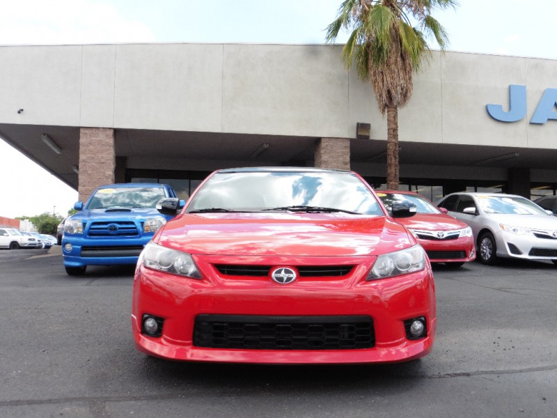 2013 Scion tC 2dr HB Man Release Series 80 N Red Black 77000 miles Stock 049487 VIN JTKJF