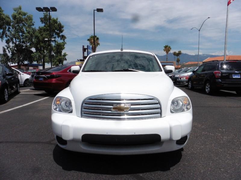 2011 Chevrolet HHR 4dr LT w1LT White Black 47000 miles Stock 648057 VIN 3GNBABFW1BS648057