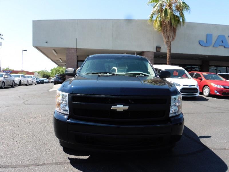 2007 Chevrolet Silverado 1500 Ext Cab Blue Black 36000 miles Stock 619003 VIN 1GCEC19X87Z
