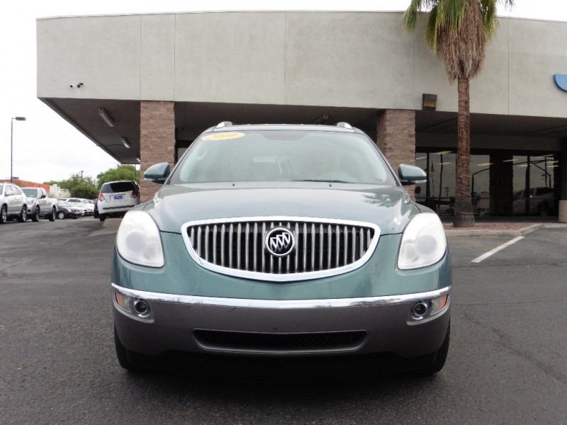 2009 Buick Enclave 4dr CXL Green Tan 113000 miles Stock 101875 VIN 5GAER23D99J101875