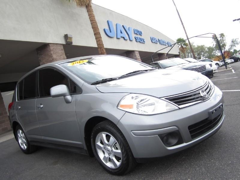 2012 Nissan Versa 5dr HB CVT 18 S Silver Gray 11000 miles Stock 362058 VIN 3N1BC1CP7CL3620