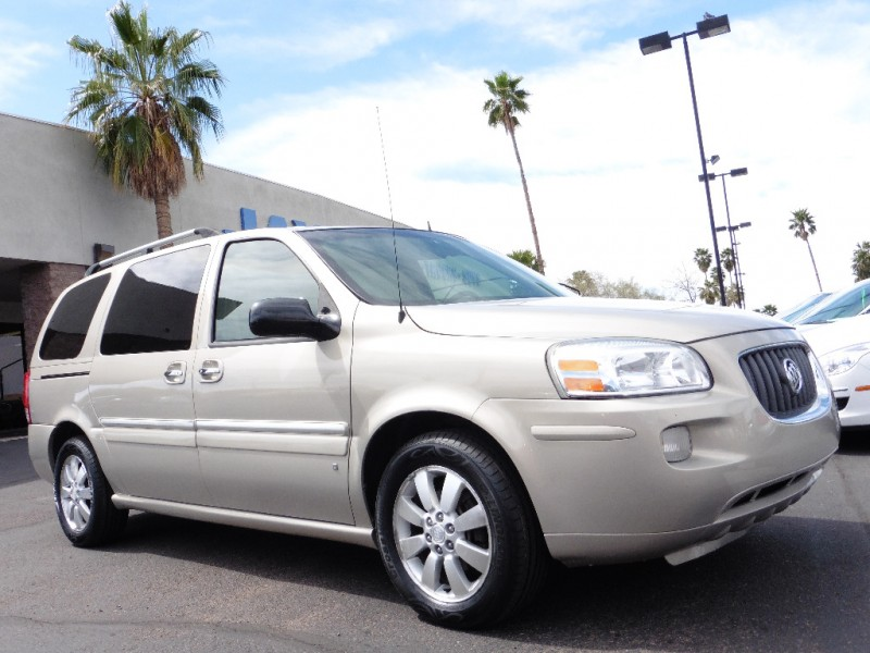 2007 Buick Terraza CXL 4dr CXL Gold Tan 97000 miles Stock 144913 VIN 5GADV331X7D144913