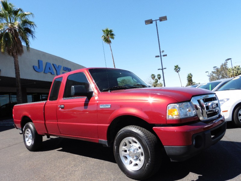 2011 Ford Ranger Super Cab XLT 2WD 4dr SuperCab 126 Red Gray 23000 miles Stock A38986 VIN