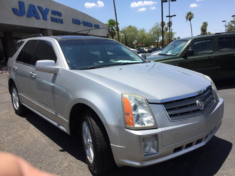 2004 Cadillac SRX 4dr V8 SUV Silver Gray 147000 miles Stock 115865 VIN 1GYDE63A540115865