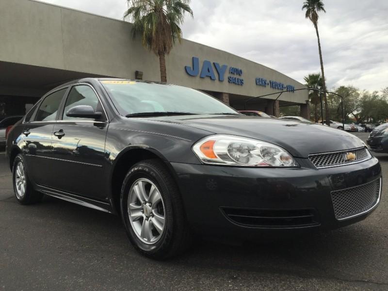 2014 Chevrolet Impala Limited 4dr Sdn LS Fleet Black Gray 35000 miles Stock 139112 VIN 2G